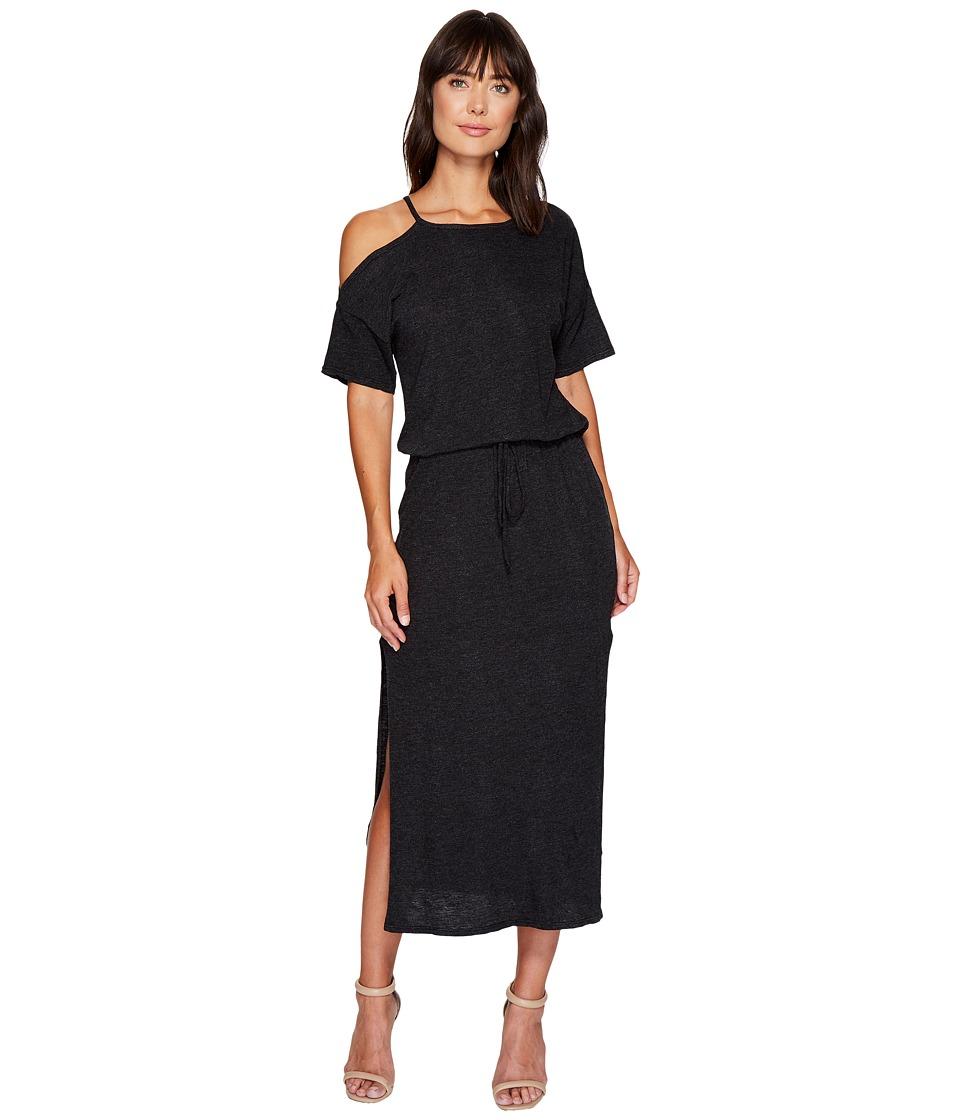 Lanston - Cold Shoulder Tee Midi Dress