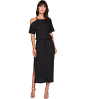 Lanston - Cold Shoulder Tee Midi Dress