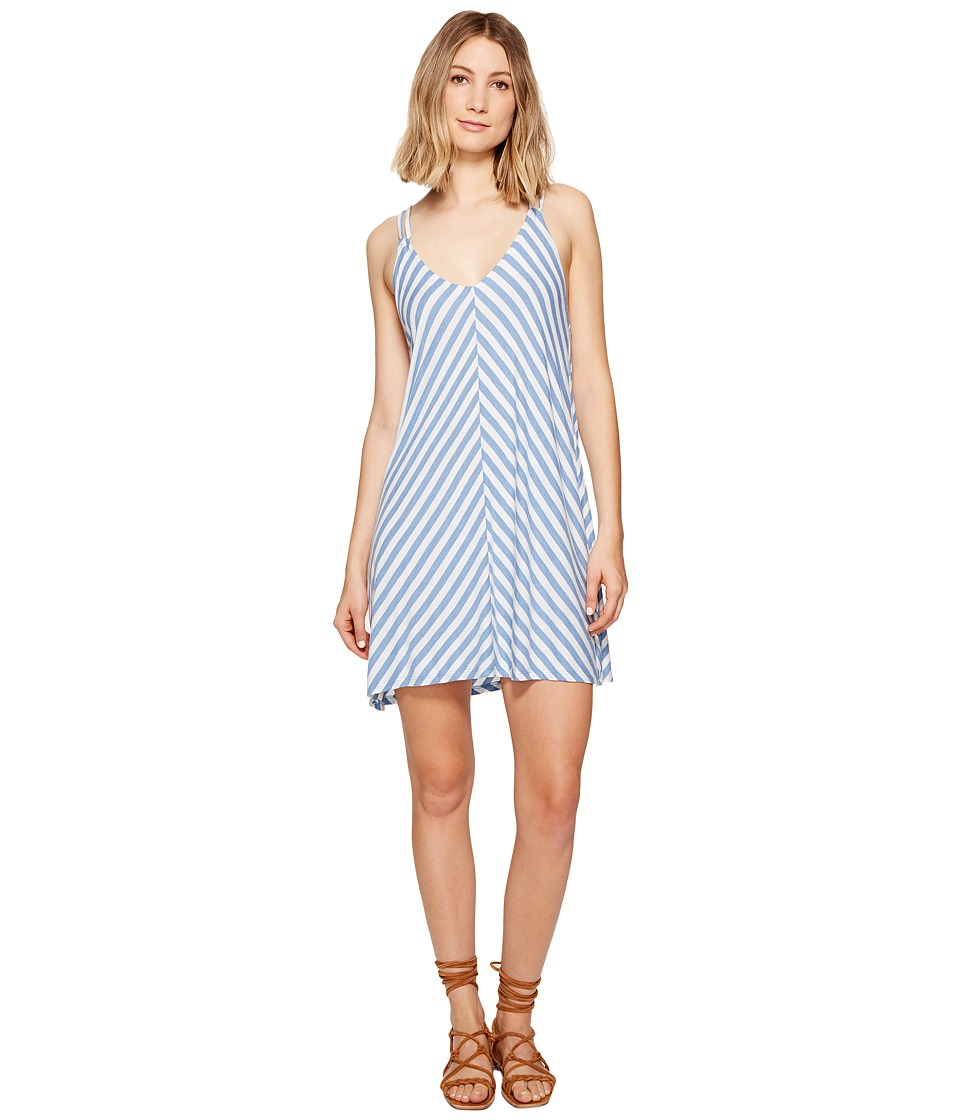 Billabong Back Street Dress (Cobalt) Women