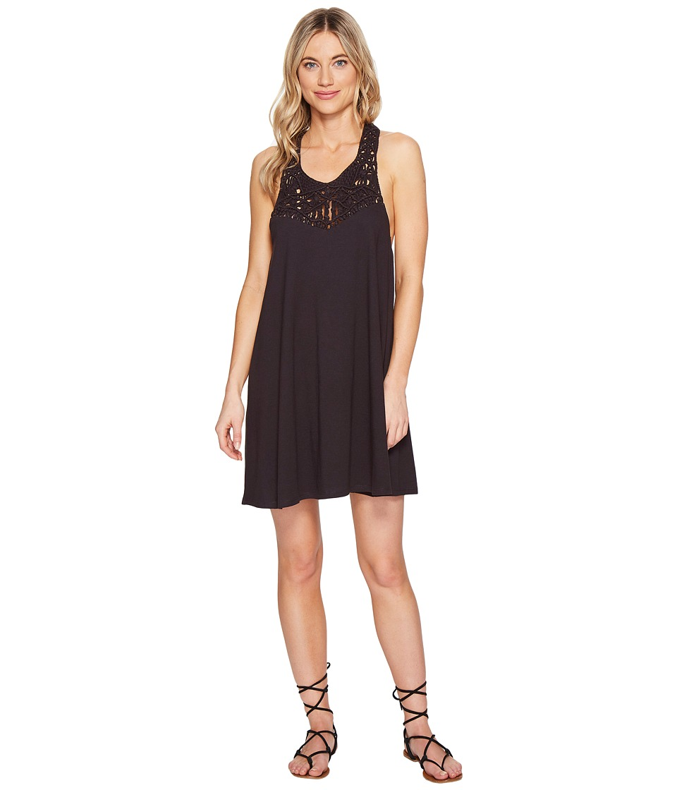 Billabong Easy Show Dress (Off-Black) Women
