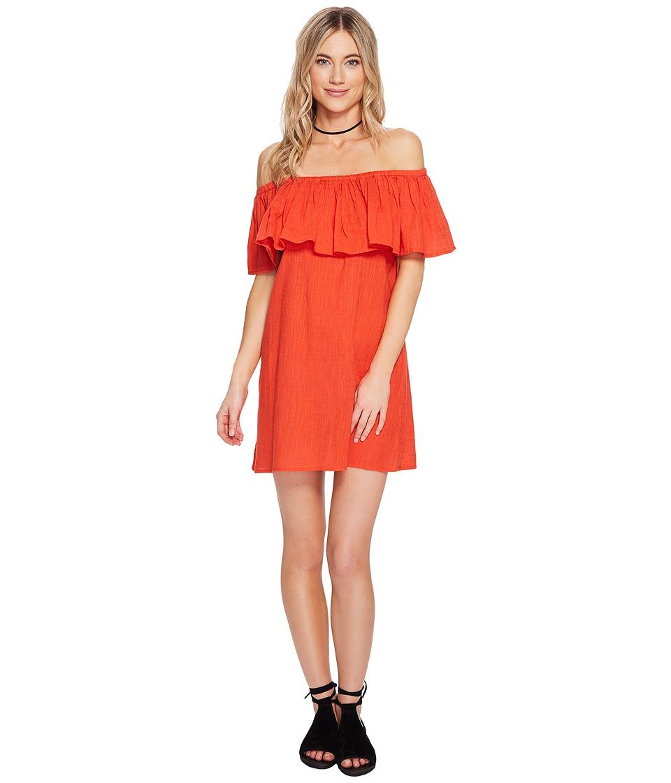 Billabong Mi Bonita Dress (Rio Red) Women