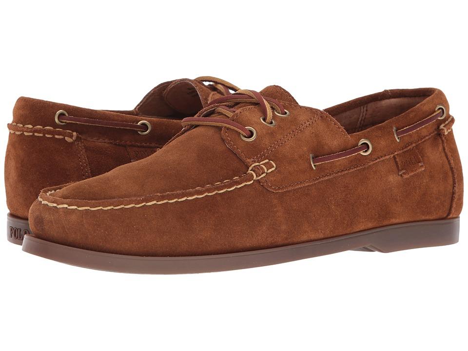 Polo Ralph Lauren - Bienne II (Snuff/Gum Sport Suede) Mens Lace up casual Shoes