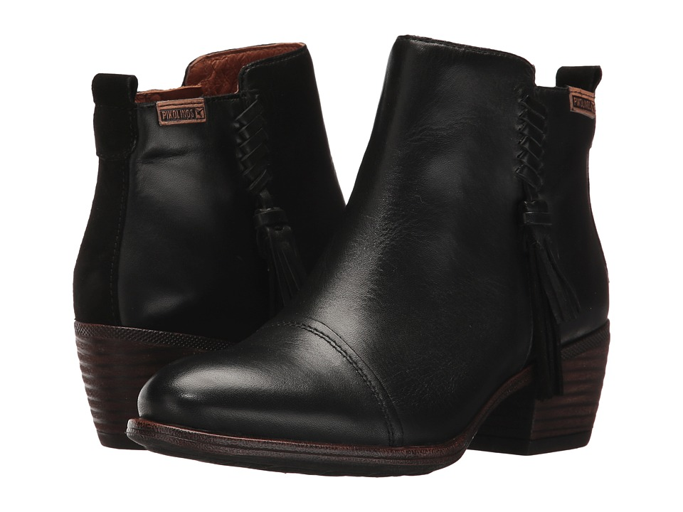 Pikolinos Baqueira W9M-8941 (Black) Women