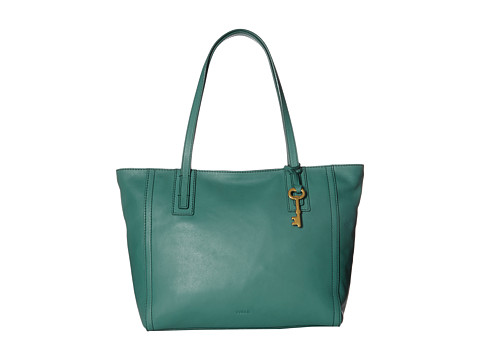 Fossil Emma Tote - Teal Green