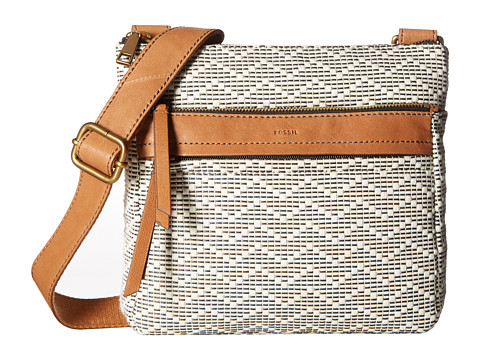 Fossil Corey Crossbody - Neutral Stripe