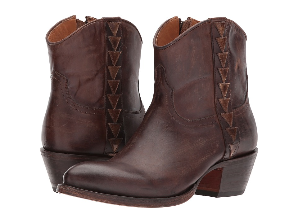 Lucchese - Chloe (Dark Brown) Cowboy Boots