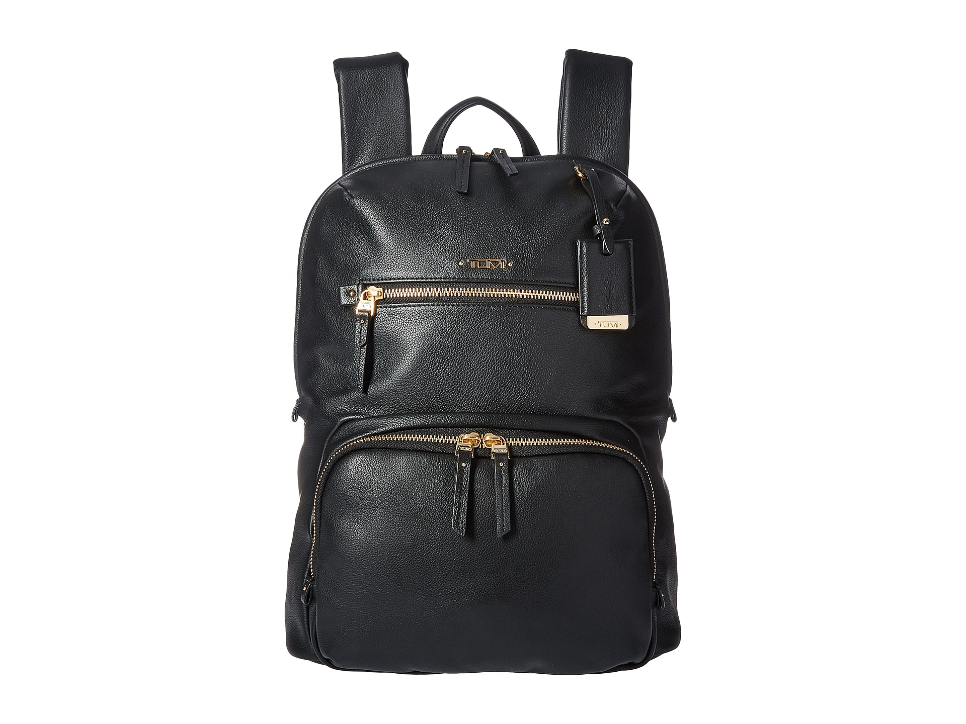 Tumi Voyageur Leather Halle Backpack Zappos Com Free