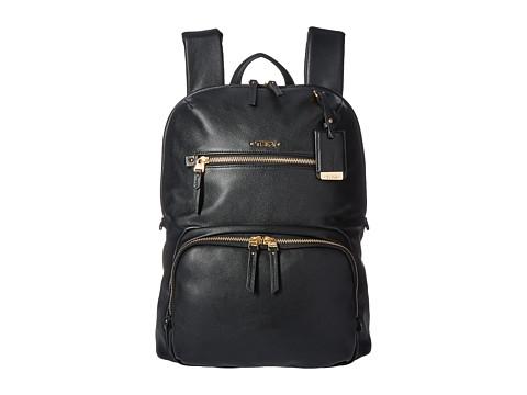 Tumi Voyageur Leather Halle Backpack - Black