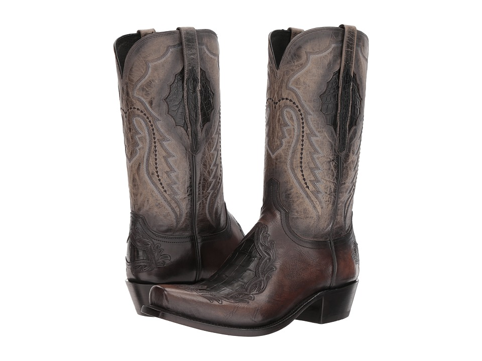 Lucchese - Bryson (Anthracite) Cowboy Boots