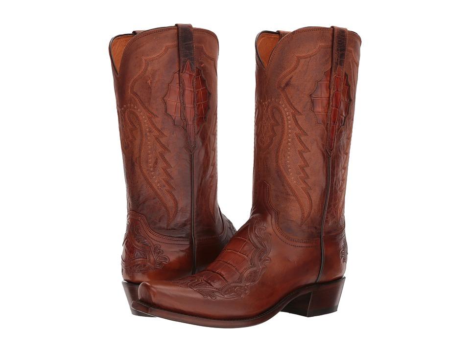 Lucchese Bryson (Peanut Brittle) Cowboy Boots