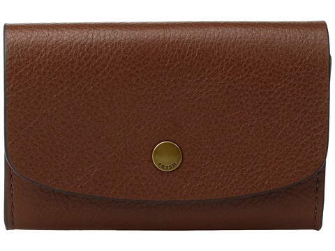 Fossil Haven Card Case - Brown