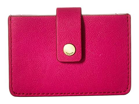 Fossil Mini Tab Wallet - Hot Pink