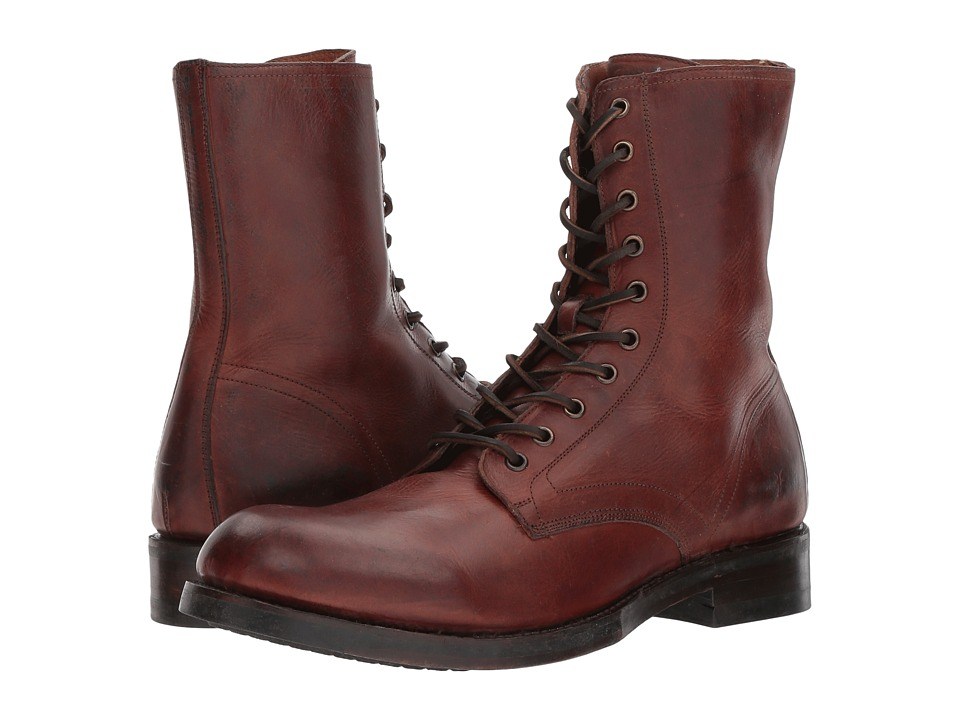 Frye Folsom Combat (Brown Vintage Veg Tan) Men