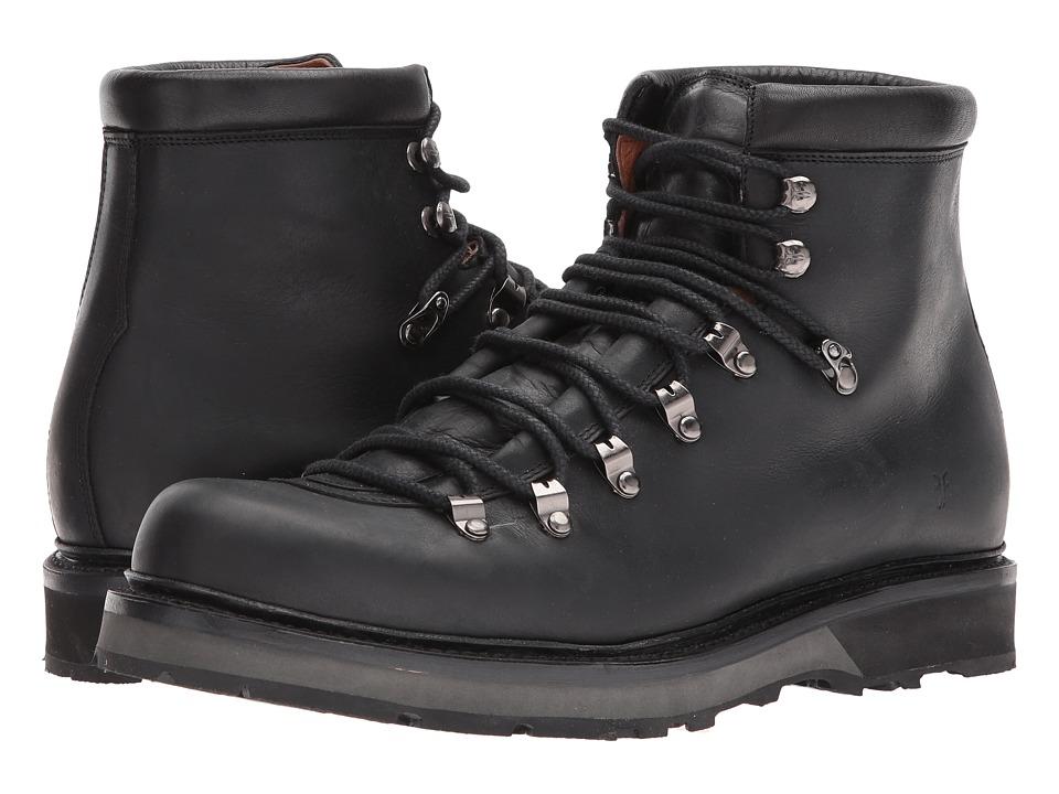 Frye Woodson Arctic Grip (Black Smooth Full Grain/Soft Vintage Leather) Men
