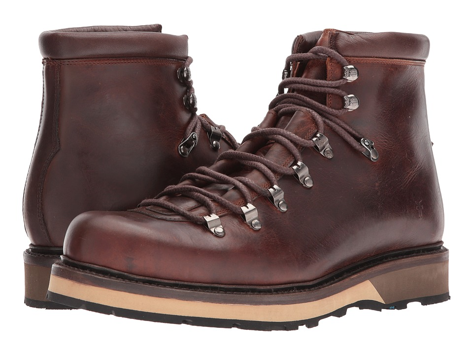 Frye Woodson Arctic Grip (Redwood Smooth Full Grain/Soft Vintage Leather) Men