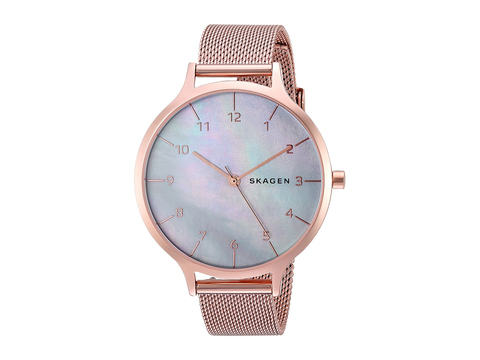 Skagen Anita Mother-of-Pearl - SKW2633 (Rose Gold) Watches