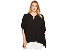 MICHAEL Michael Kors - Plus Size Ring Flutter Top