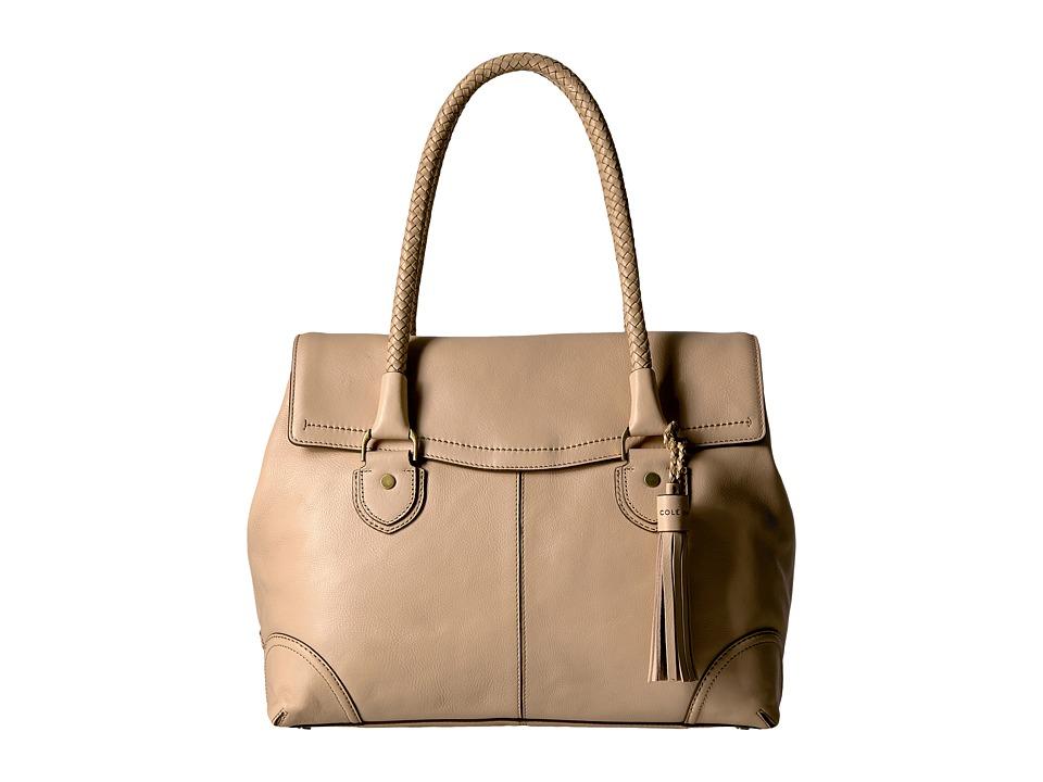 Cole Haan Saddle Tote (Nude) Tote Handbags