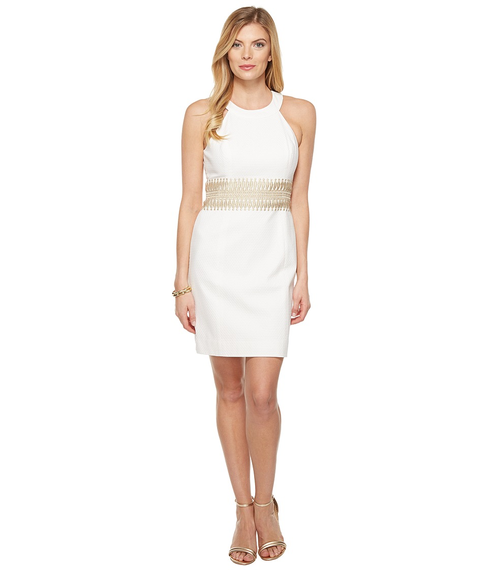 Lilly Pulitzer Ashlyn Shift Dress (Resort White) Women