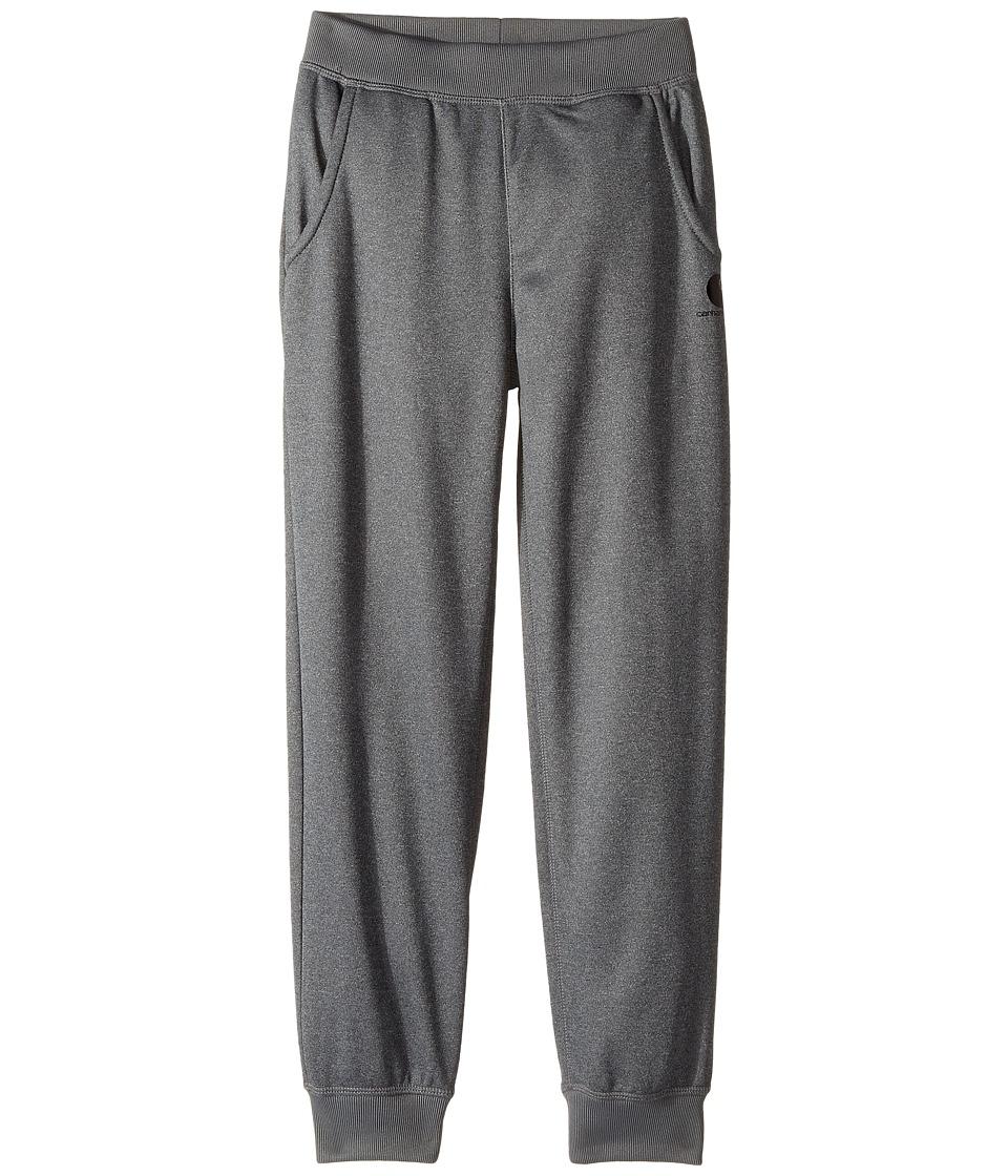 Carhartt Kids - Force Heather Fleece Pants (Big Kids) (Dark Grey) Girls Casual Pants