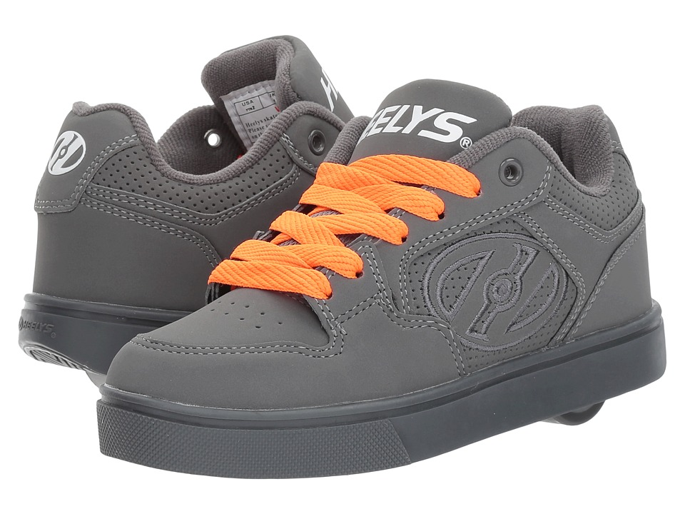 Heelys - Motion Plus (Little Kid/Big Kid/Adult) (Triple Charcoal) Boys Shoes