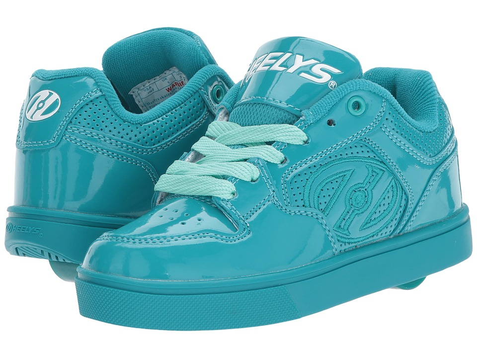 Heelys - Motion Plus (Little Kid/Big Kid/Adult) (Aqua Patent) Kids Shoes