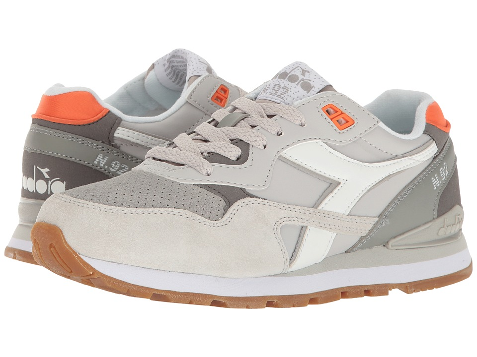 Diadora N-92 WNT (Paloma/Lunar Rock) Athletic Shoes