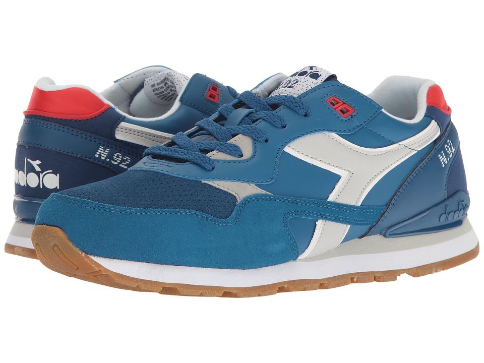 Diadora N-92 WNT (Dark Blue/Deep Water) Athletic Shoes