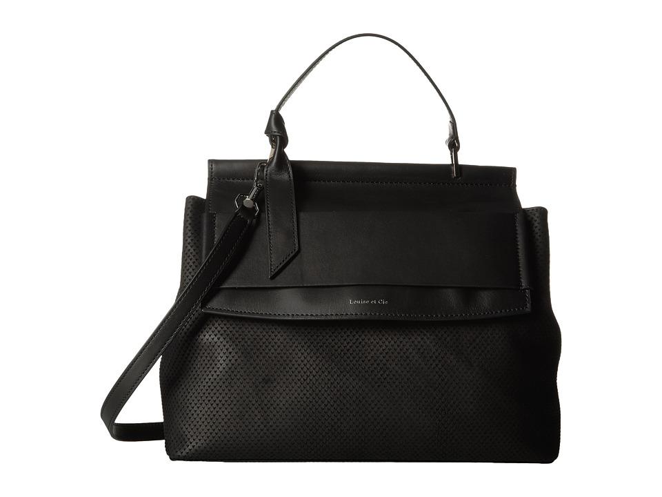 Louise et Cie Melle Briefcase (Black) Briefcase Bags
