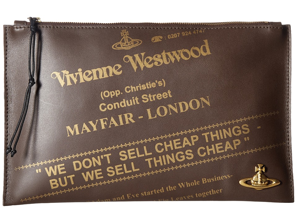 Vivienne Westwood - Africa Leather Pouch