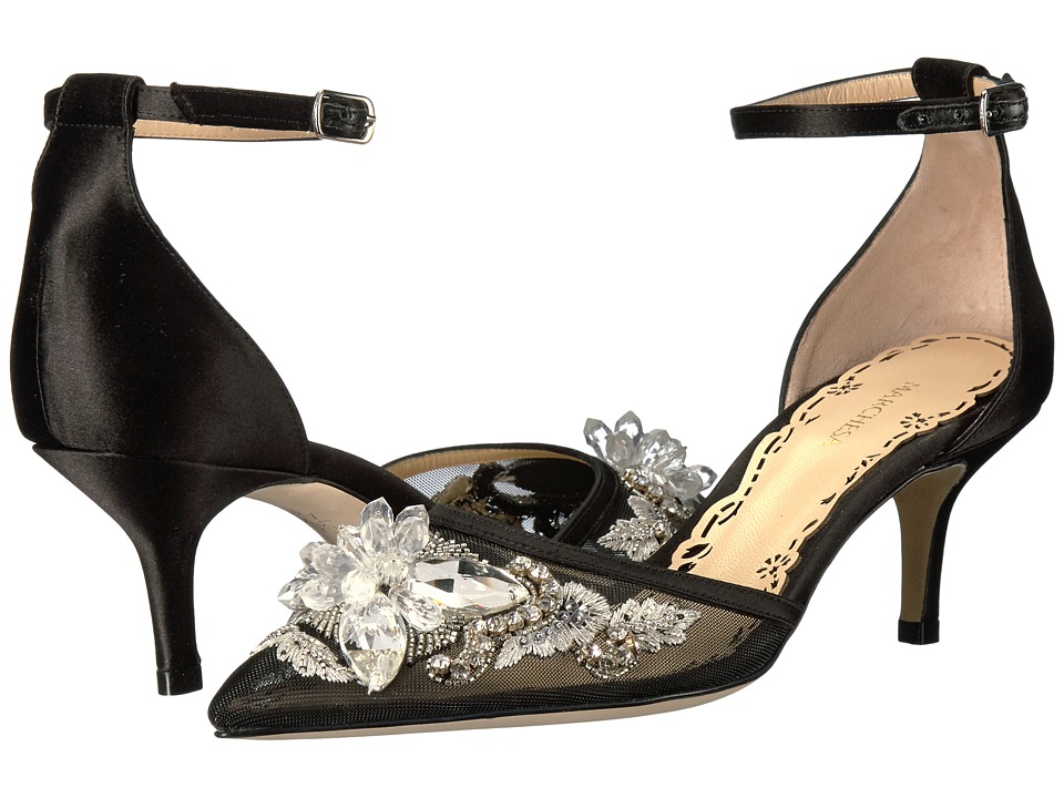 Marchesa Darlene (Black Satin) Women