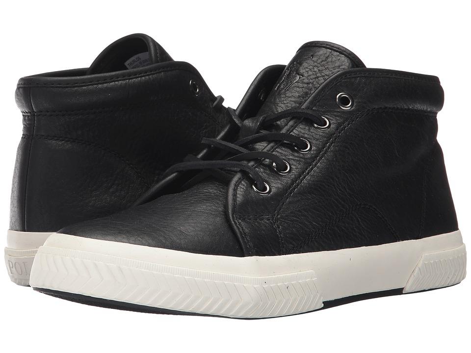 Polo Ralph Lauren Thurlos (Black Pull Up Grain Leather) Men