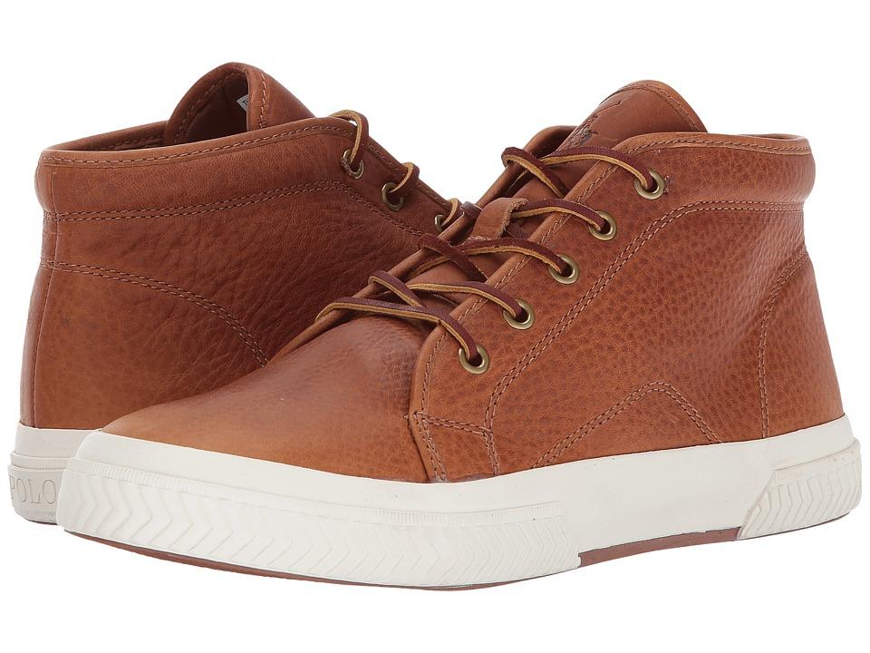 Polo Ralph Lauren Thurlos (Tan Pull Up Grain Leather) Men