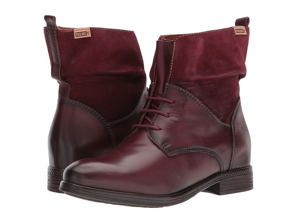 Retro Boots, Granny Boots, 70s Boots Pikolinos - Ordino W8M-8923 Brandy Womens Shoes $147.99 AT vintagedancer.com