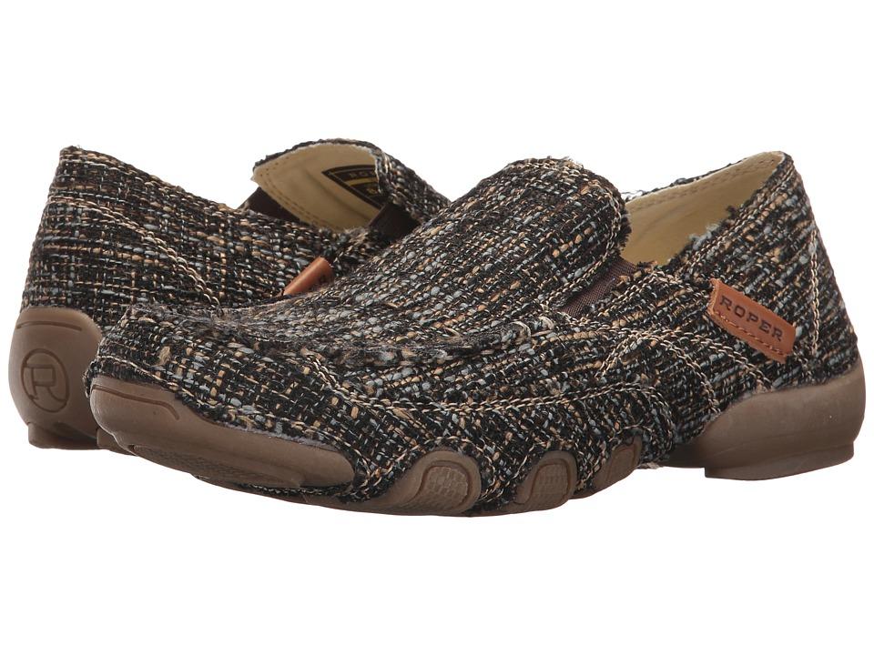 Roper Daisy (Tweed Brown) Slip-On Shoes