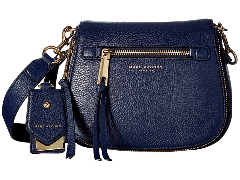 Marc Jacobs Recruit Small Saddle Bag - Midnight Blue