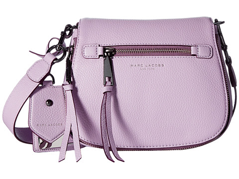 Marc Jacobs Recruit Small Saddle Bag - Pale Lilac