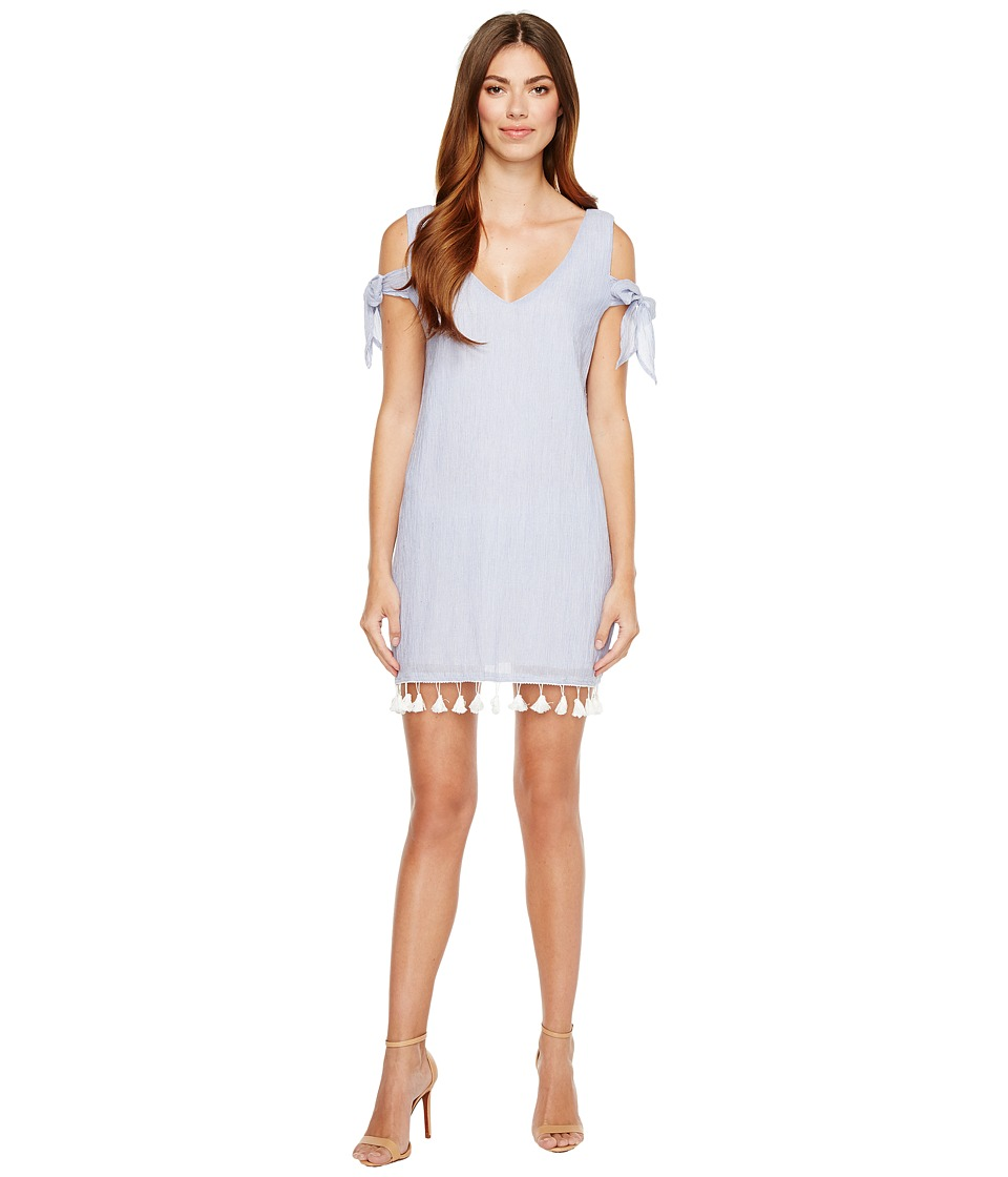 Brigitte Bailey Abbey Sleeveless Dress with Tassel Detail (Blue) Women