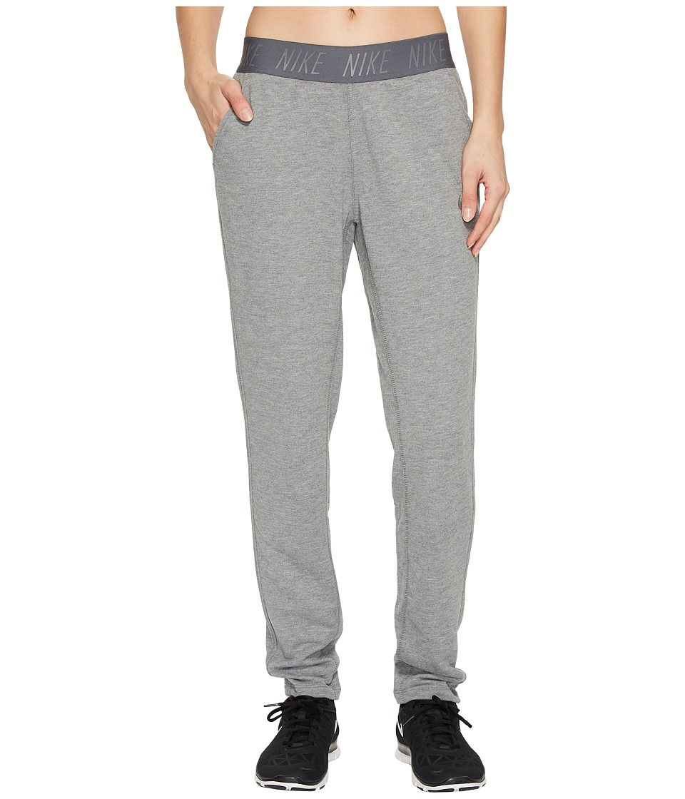 Nike Dry Training Pant (Carbon Heather/Dark Grey) Women