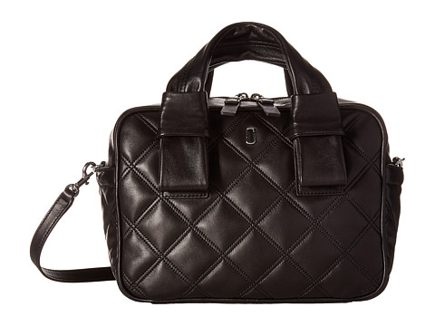 Marc Jacobs Quilted Antonia Bauletto - Black