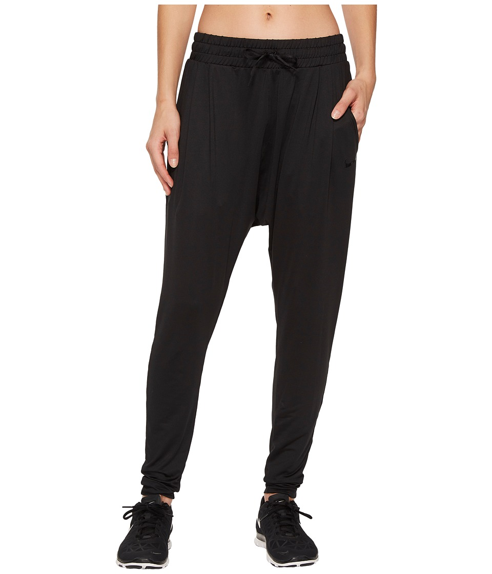 Nike Dry Flow Lux Pant (Black/Clear) Women's Casual Pants