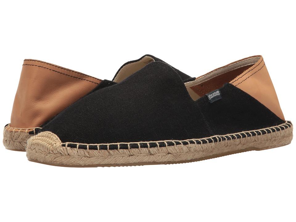 Soludos Convertible Original (Black/Beige) Men's Shoes