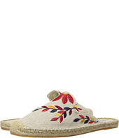 Soludos - Embroidered Floral Mule