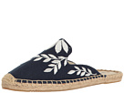 Soludos Embroidered Floral Mule