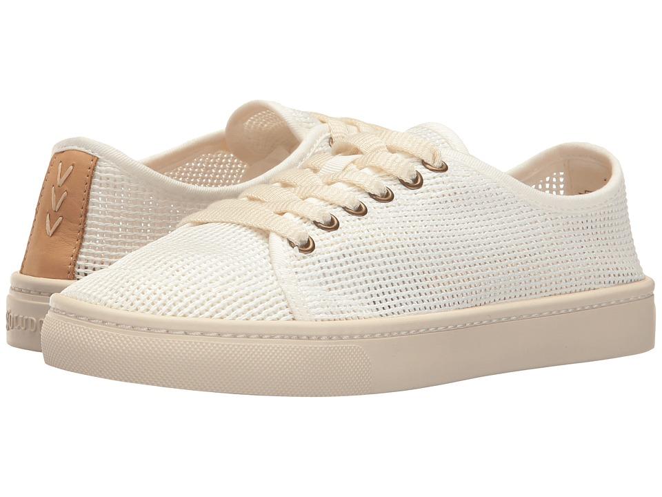 Soludos Mesh Lace-Up Sneaker (White) Women