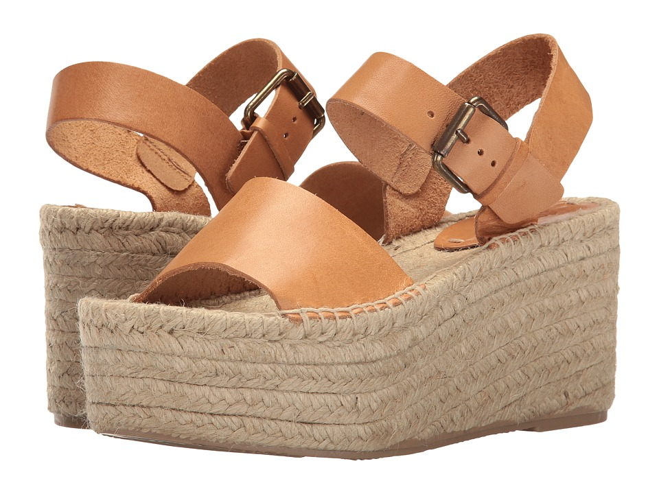 Soludos Minorca High Platform (Nude) Women's Shoes