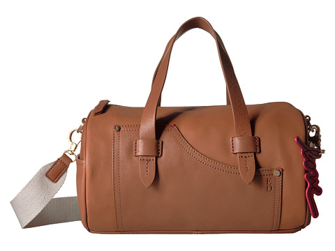 ED Ellen DeGeneres Carmel Barrel Bag - Honey/Honey