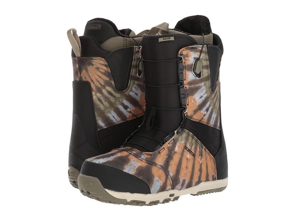 Burton - Ruler (Black/Multi) Men's Snow Shoes