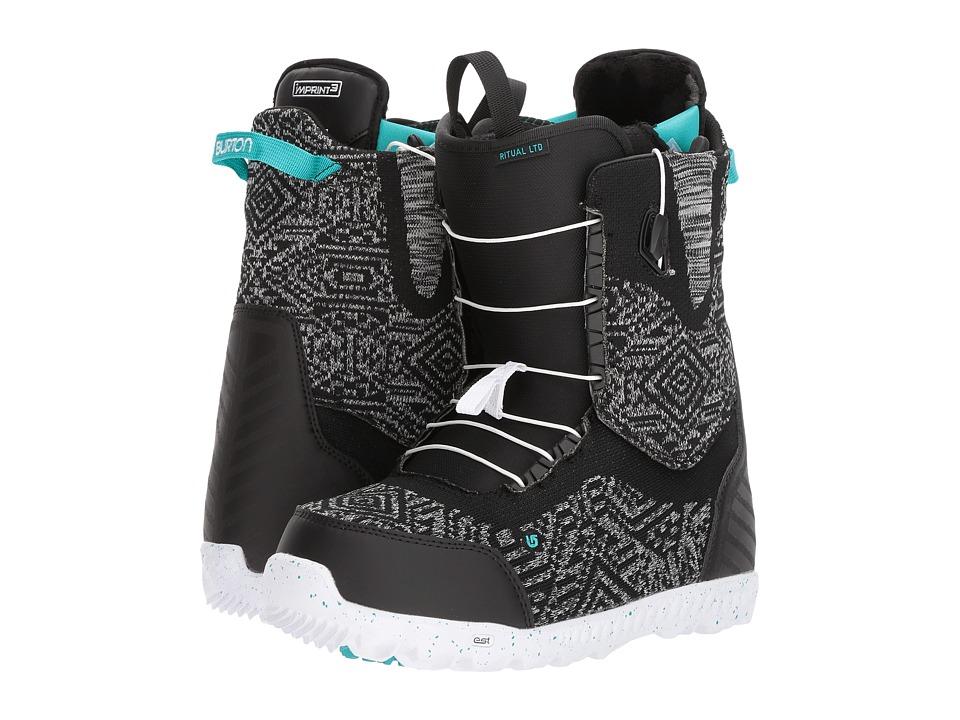 Burton Ritual LTD (Black/Multi) Women's Snow Shoes