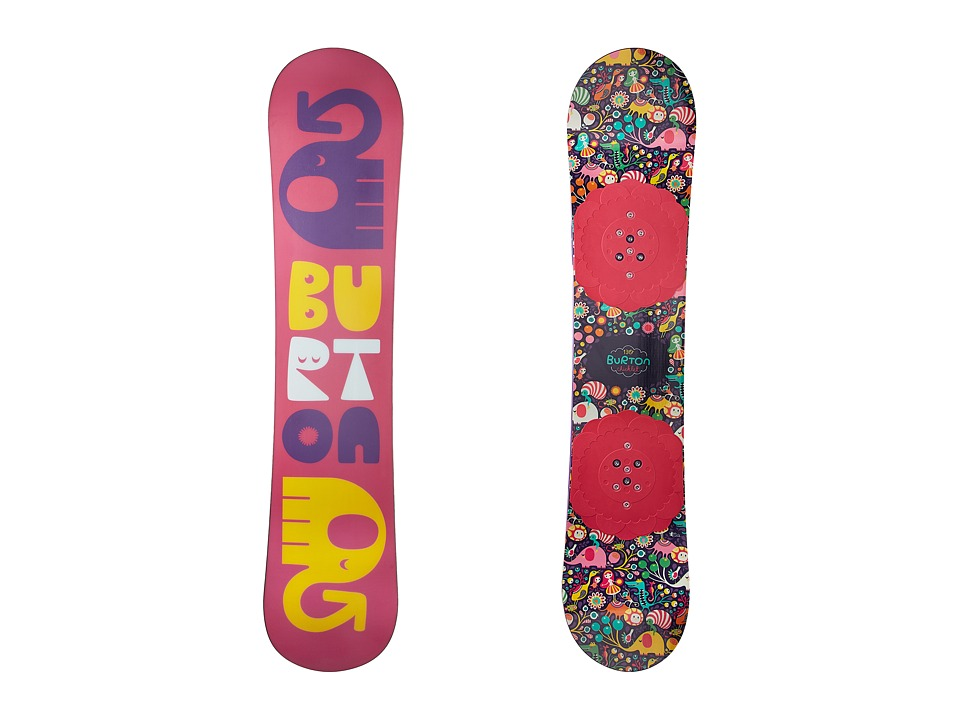 Burton Kids - Chicklet '18 130 (Youth) (Multi) Snowboards...